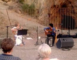 concierto homenaje a Juan Torreblanca en La Cueva de la Paloma Bayarque