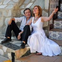 Sebastián Haro y Sensi Falán en Y vivir de Nuevo1